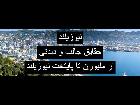 سفر من به New Zealand Wellington قسمت چهارم