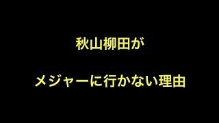 秋山柳田がメジャーに行かない理由 【プロ野球】