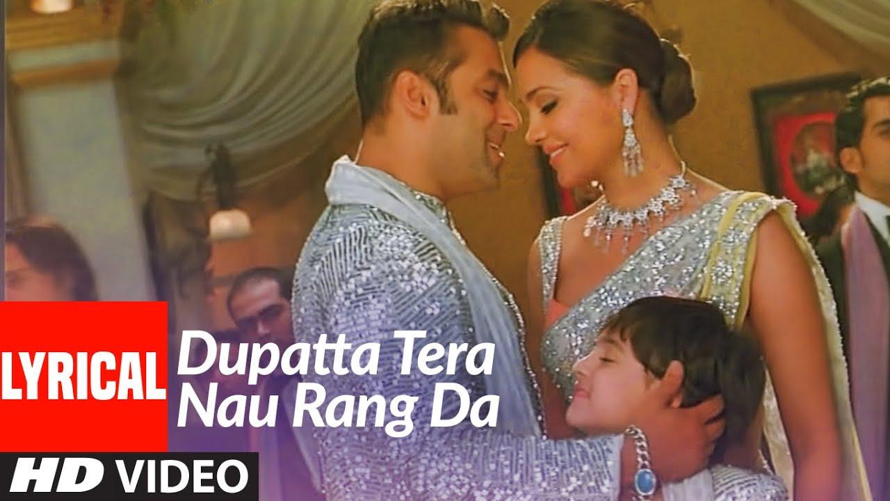 Lyrical: Dupatta Tera Nau Rang Da | Partner | Salman Khan, Govinda, Katrina, Lara Dutta