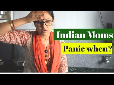 Indian Moms Panic when    | Captain Nick
