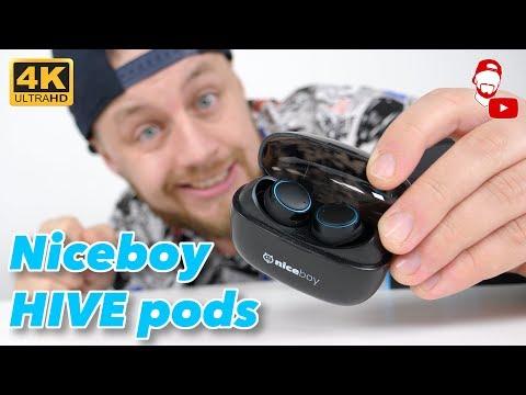 Nechal jsem se ukecat! Tohle jsou sluchátka Niceboy HIVE pods 🎧 | #WRTECH [4K] (CZ Recenze/Review)