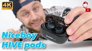 Nechal jsem se ukecat! Tohle jsou sluchátka Niceboy HIVE pods 🎧 | WRTECH [4K] (CZ Recenze/Review)