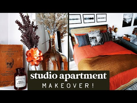 Studio Apartment Move-In Vlog {Pt 3/3}: Decorating Our Space Together!