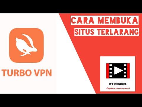 TRIK MEMBUKA SITUS TERLARANG ATAU TERBLOKIR DENGAN  TURBO VPN