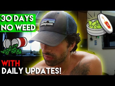 30 Days No Weed - The Detox Process