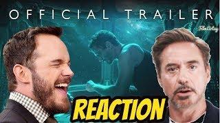 Avengers 4: End Game Official Trailer Reaction & Breakdown - Marvel 2019