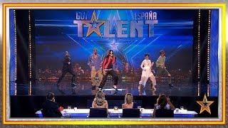 Zombies asustan a Edurne, Paz y Eva a ritmo de 'Thriller' | Audiciones 4 | Got Talent España 2019