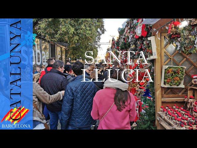 Fira de Santa Llúcia navidad en el centro | Barcelona #13