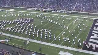 2014 KSU Marching Band Game 1 Journey Halftime Show