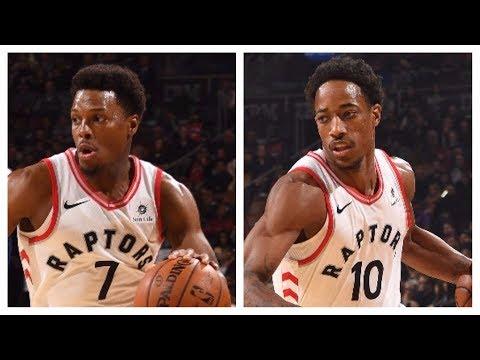 Kyle Lowry (22/8/10) and DeMar DeRozan (22/6/7) Lead Raptors Past Knicks   November 17, 2017
