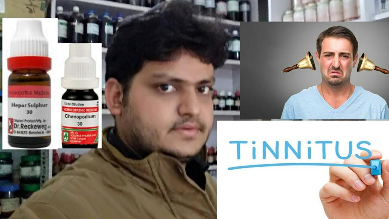 homeopathic medicine for Tinnitus?explain!