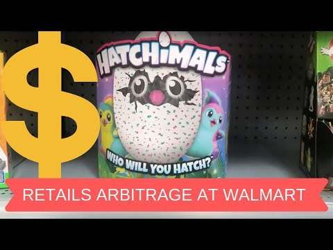 Retail Arbitrage at Walmart to make money reselling on eBay & Amazon