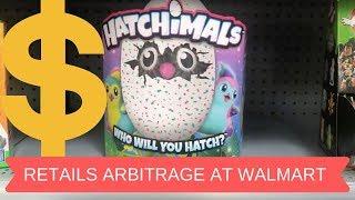 Retail Arbitrage at Walmart to make money reselling on eBay & Amazon