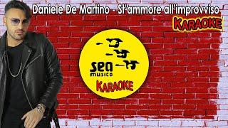 Daniele De Martino - St'ammore all'improvviso (KARAOKE UFFICIALE 2019)