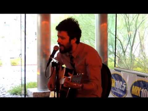 Michael Angelakos of Passion Pit, Moth's Wings and Carried Away at Mix 100.5 Acoustic Lounge