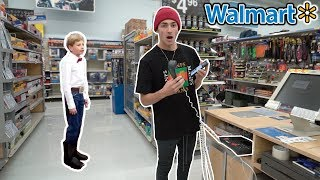 PLAYING THE WALMART YODELING KID ON THE INTERCOM AT WALMART! (EDM REMIX)