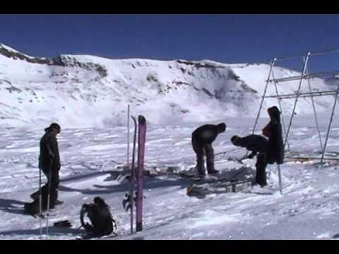 EFLUM Field Experiment on the Plaine Morte Glacier - 2006