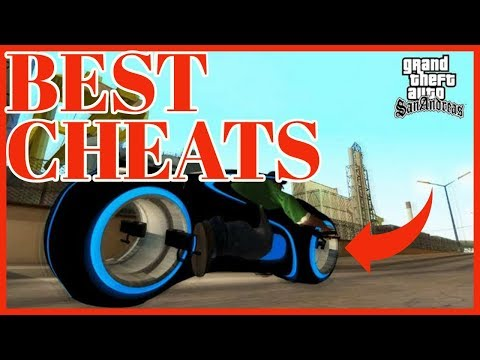 GTA San Andreas CHEATS (BEST)