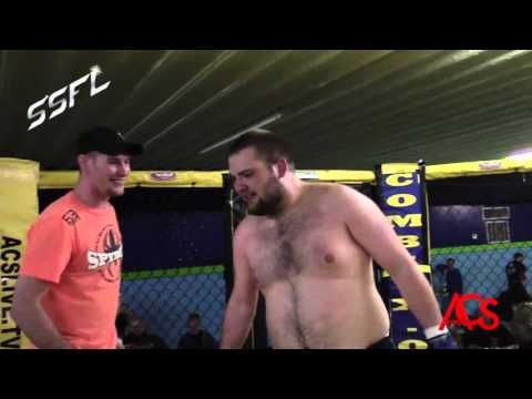 SSFL Spyder Submission Fight League James Allen vs Cody Collin