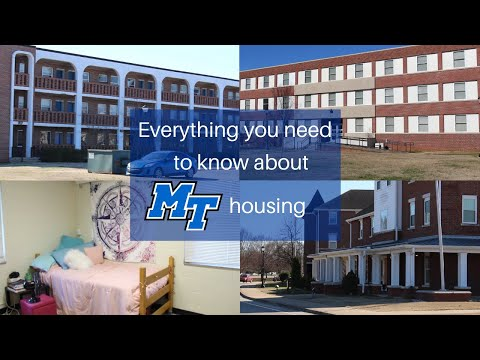 How To Pick Where To Live In College // MTSU Housing 101