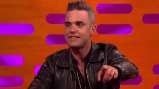Утренний стояк Robbie Williams
