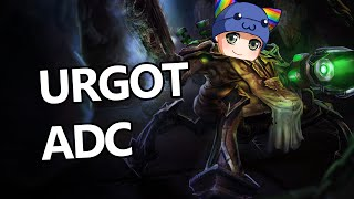 League of Legends - Urgot ADC - Full Game Commentary