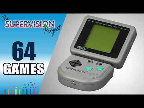 The Watara SuperVision Project - All 64 SuperVision games - Every game (US/EU/JP)