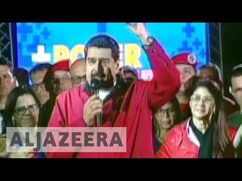 International condemnation as Venezuela president celebrates election