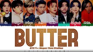 Download BTS (방탄소년단) - 'Butter' (feat. Megan Thee Stallion) Lyrics [Color Coded_Eng]