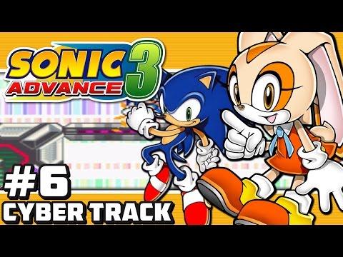 Sonic Advance 3 GBA - Part 6: Cyber Track (Digital Dash)