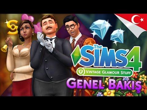 The Sims 4 Vintage Glamour Stuff İnceleme / Genel Bakış