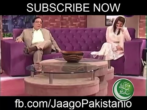 Atta ul Haq Qasmi Flirting With Reham Khan
