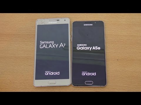 Samsung Galaxy A5 (2016) vs Galaxy A7 (2015) - Speed & Camera Test (4K)