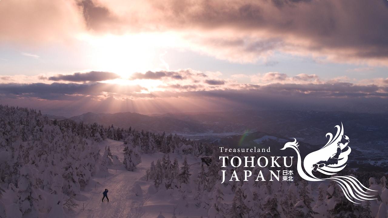Winter Lights in Tohoku, Japan 4K (Ultra HD) - 東北の冬