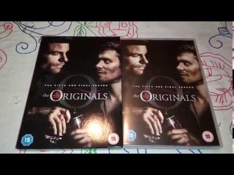 The Originals Season 5 DVD Unboxing