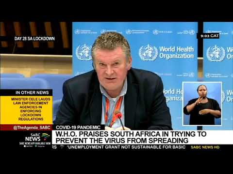 COVID-19 Pandemic | WHO praises South Africa for efforts to prevent the virus from spreading