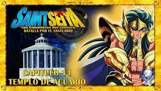 Saint Seiya Batalla por el Santuario (Gameplay en Español, Ps3) Capitulo 11 Templo de Acuario