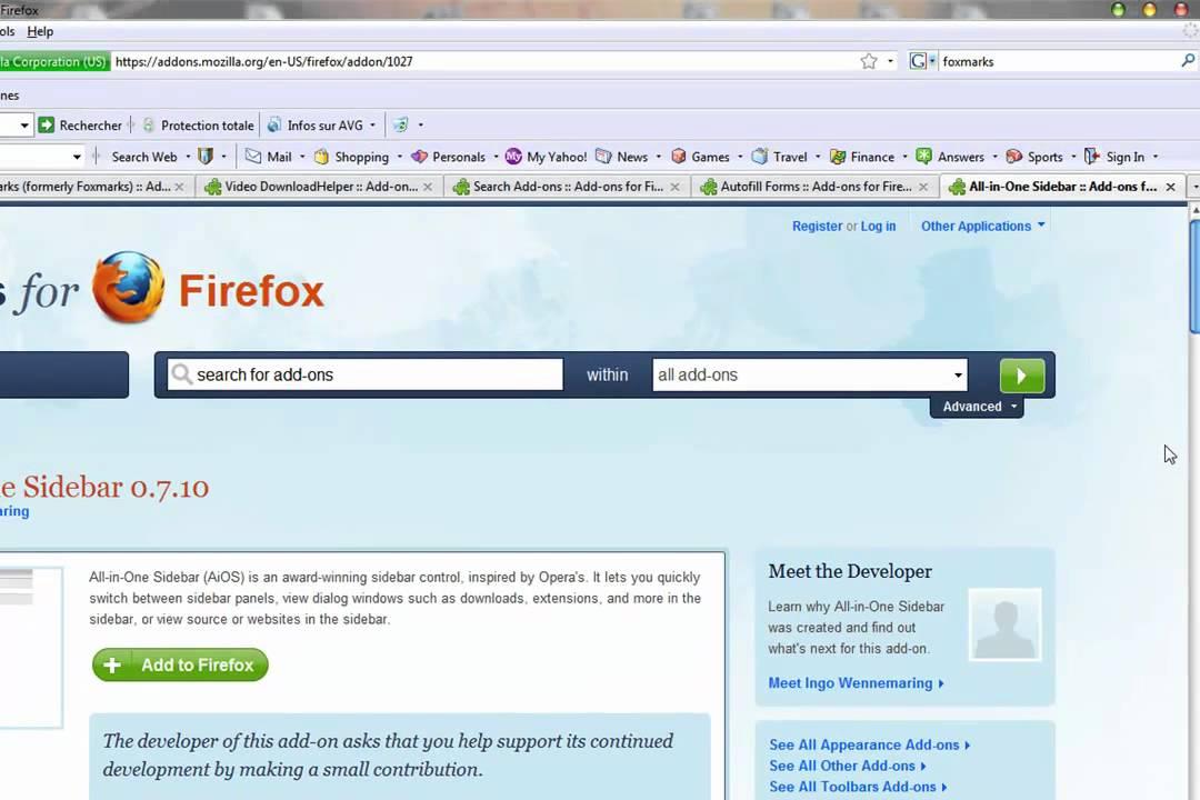 module complementaire firefox downloadhelper
