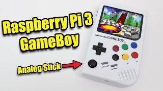 Raspberry Pi 3 GameBoy!