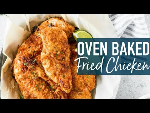 Baked Fried Chicken | EASY Oven Fried Chicken Breast