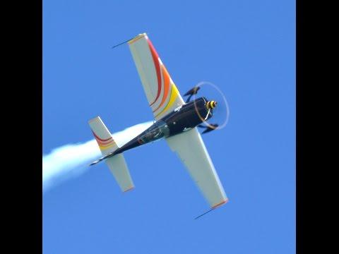 Patty Wagstaff Extra 300S Aerobatics Wings and Waves