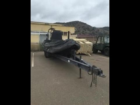 Zodiac Inflatable Boat Trailer