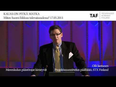 Miten Suomi liikkuu tulevaisuudessa? Olli Jantunen, STX Finland