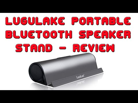 Review: LuguLake Portable Bluetooth Speaker Stand