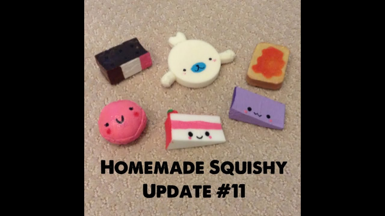 new how to make cake squishies