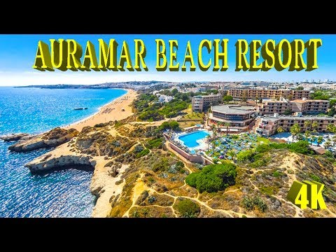 AURAMAR BEACH RESORT HOTEL, ALBUFEIRA, PORTUGAL 4K 2018