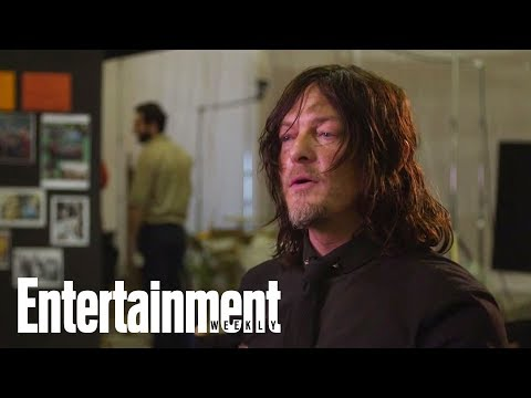 The Walking Dead's Norman Reedus Reveals He Felt Insecure On First Day | Entertainment Weekly