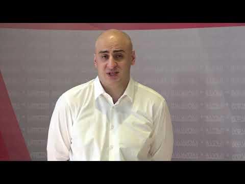 Nika Melia about  Irakli garibashvili