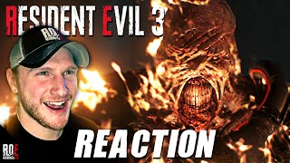 RESIDENT EVIL 3: REMAKE || NEMESIS TRAILER REACTION & Discussion