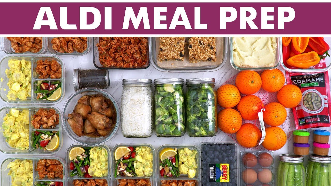 Healthy Aldi Meal Prep For The Week Haul Instant Pot Recipe